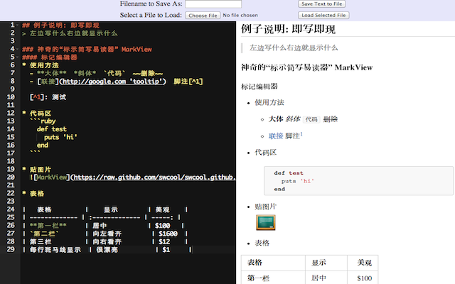MarkView Editor: Chinese